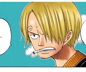 sanji and one piece manga image