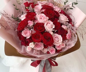 flor, pink, and romance image