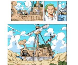 zoro, one piece manga, and rorona zoeo image