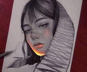 arte, belleza, and digital image