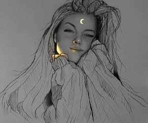dibujo, luz fluorescente, and arte image