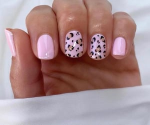 leopard, nails art, and nails design image