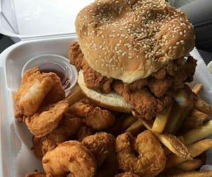 Chicken, food, and hamburguêr image