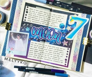 journal, journaling, and bts image