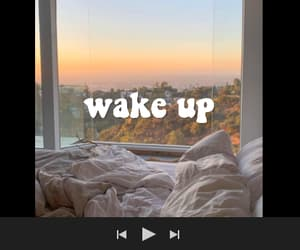 wake up, aesthetic, and spotify playlist image