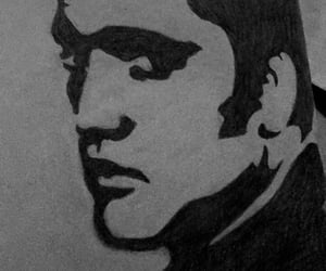 elvis, art, and drawing image