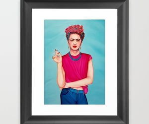 frida kahlo, framed prints, and home decor ideas image
