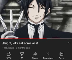 archive, black butler, and edit image