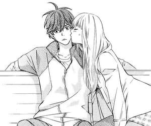 manga, manga couple, and manga boy image