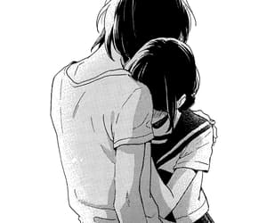 manga, manga couple, and manga girl image