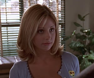 buffy the vampire slayer, buffy, and screen caps image