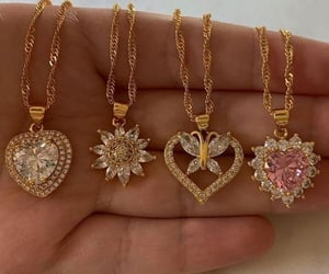 jewelry, necklace, and chain image
