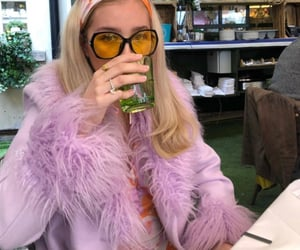 drinking, drinks, and faux fur image
