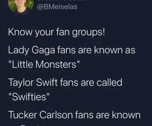 Lady gaga, Taylor Swift, and little monsters image