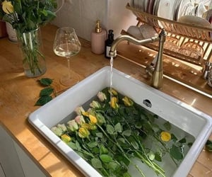 flowers, home, and aesthetic image