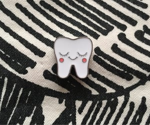 brooch, Dental, and enamel image