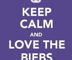 justin bieber, keep calm, and biebs image