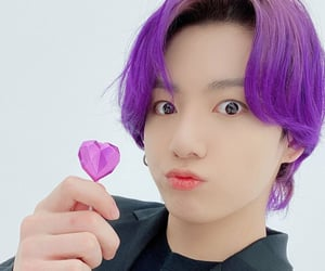 bts, jungkook, and purple image