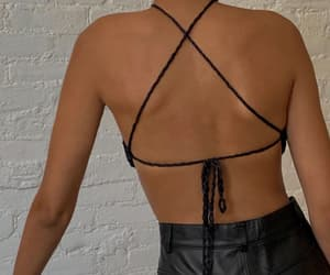 backless, outfit inspiration, and womens top image