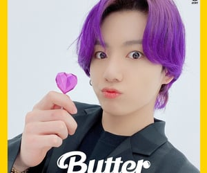 butter, jeon jungkook, and kpop image