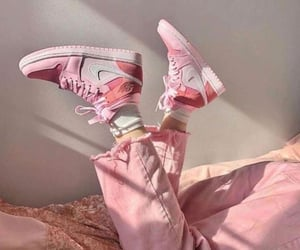 fashion, nike, and pink image