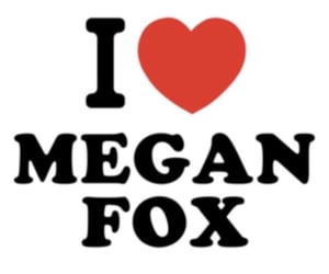 aesthetic, funny, and megan fox image