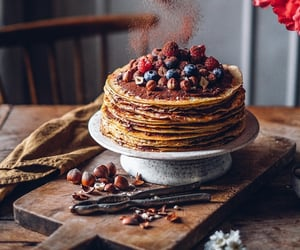 Chocolate Crepe Cake {GF}   Our Food Stories