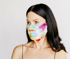 face cover, fashion face mask, and medical face mask image
