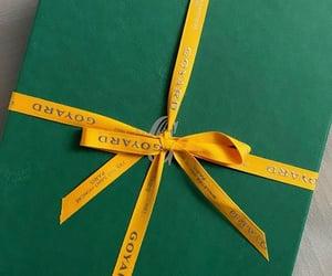 box, giftbox, and green image