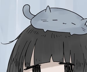 aesthetic, catgirl, and soft image