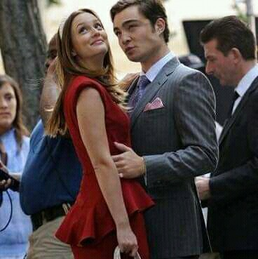 ed westwick, gossip girl, and leighton meisster image