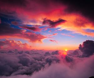 blue, pretty, and sky image