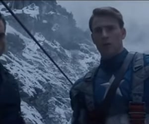 captain america, steve rogers, and love image