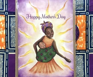 etsy, mother and child, and happy mothers day image