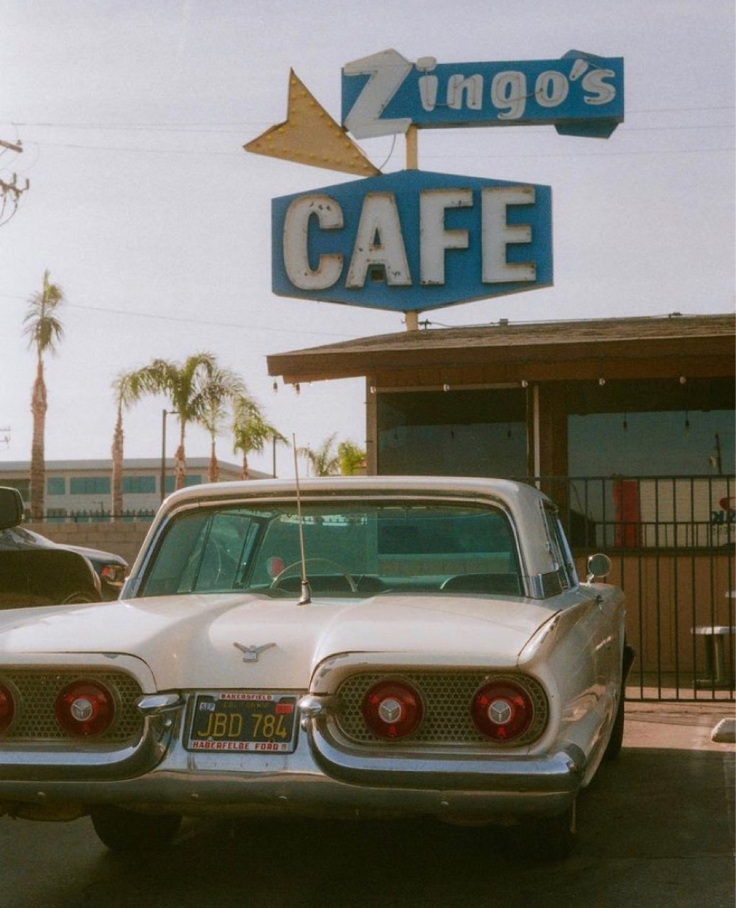 aesthetic, cafe, and cars image