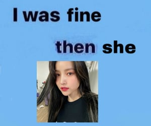 edit, gfriend, and reaction pic image