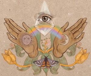 art, spiritual, and spirituality image