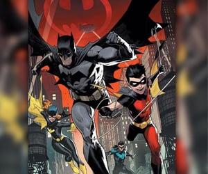 batgirl, batman, and dick grayson image