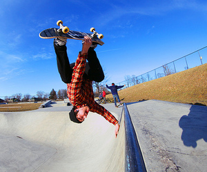 skate, photography, and skateboard image