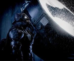 Ben Affleck, bat signal, and zack snyder image