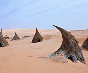 desert, Sahara, and sahara aesthetic image