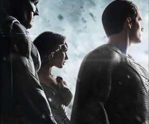 batman, black suit, and man of steel image