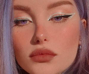 aesthetic, color, and eye makeup image