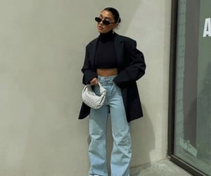 street style, summer, and turtleneck image