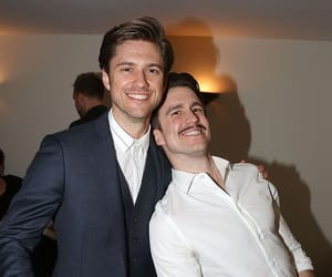 les miserables, aaron tveit, and gavin creel image