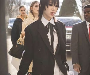 fashion, model, and sora choi image