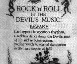 Devil, music, and rock image