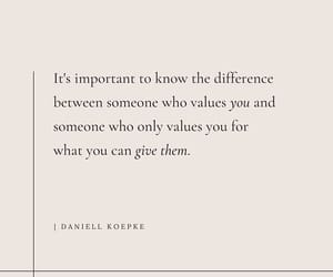 value, know the difference, and what are you worth image