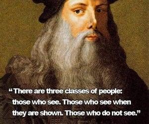 Leonardo da Vinci, what do you see?, and do you see image