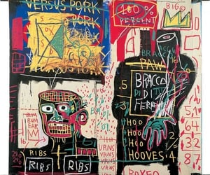 jean michel basquiat and he leveled up image